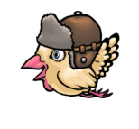 Hen-Flight-Wtih-Hat